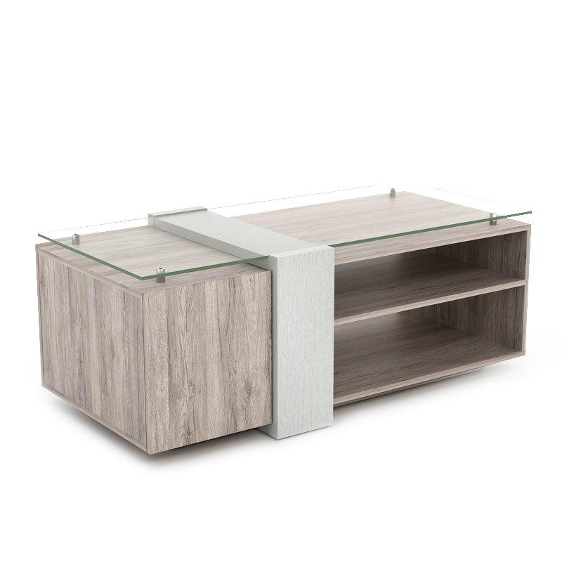 JYSK Coffee Table Kronen 120X60X45Cm Sanremo Dark
