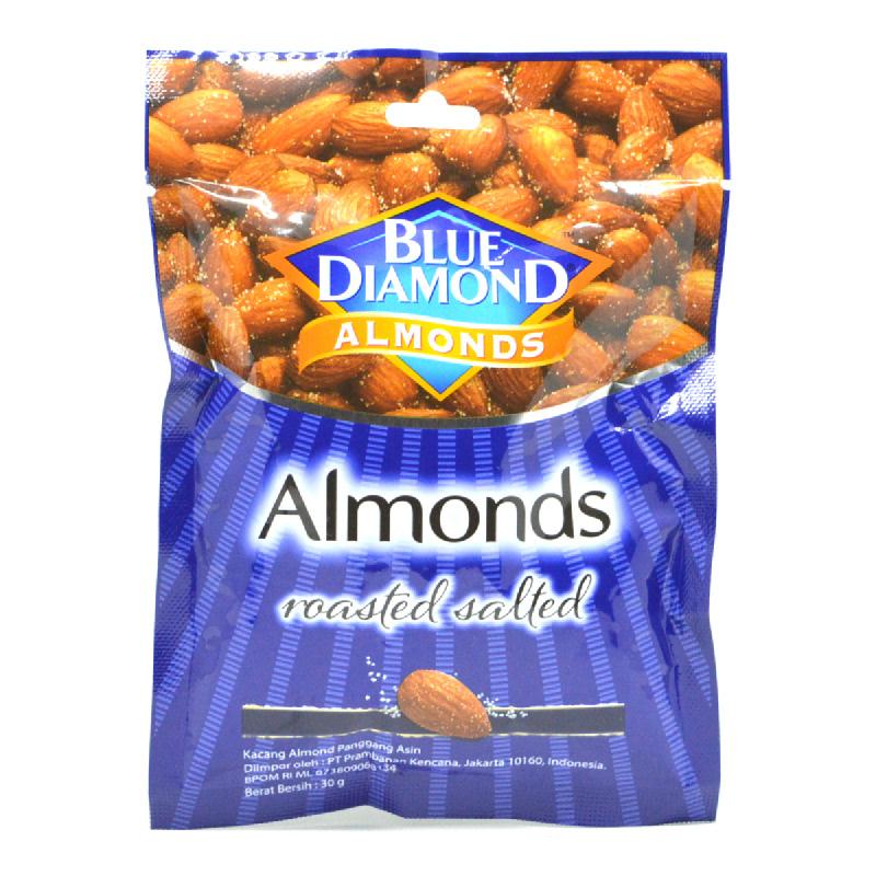 Blue Diamond Roasted Almonds Salted 30G