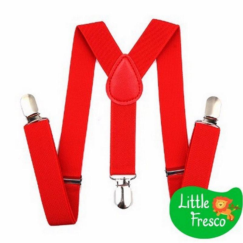 Little Fresco - Suspender Anak Merah Kids Suspender Red