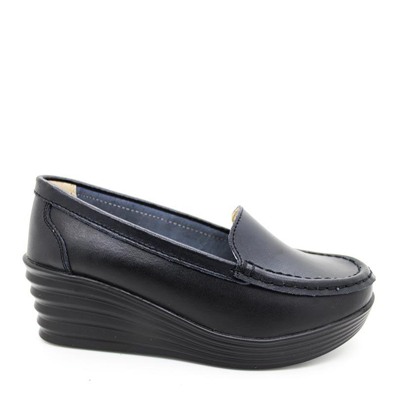 Anca Wedges Shoes A26 Black