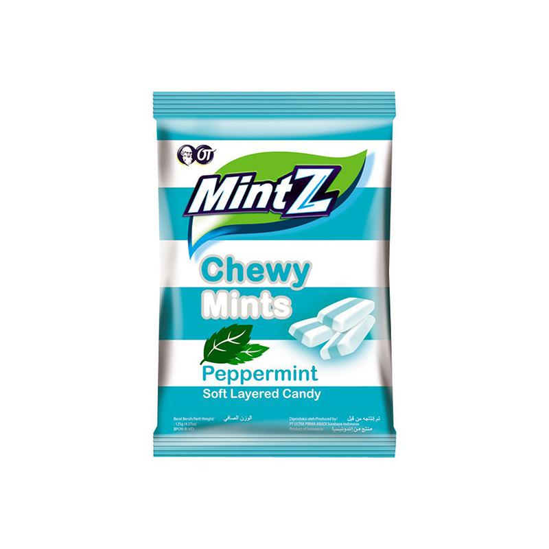 MintZ Chewy Peppermint Bag 125g