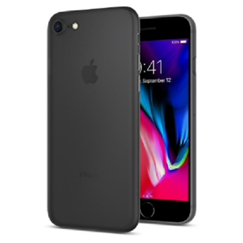Spigen iPhone 8 Case Airskin - Black