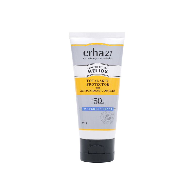 Erha Helios Water Resistant SPF 50 PA++ 60g - Sunblock or Sunscreen Wajah