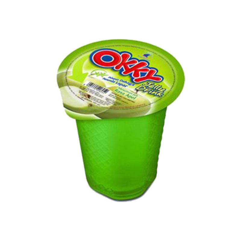 Okky Jelly Drink Apple  150 Ml