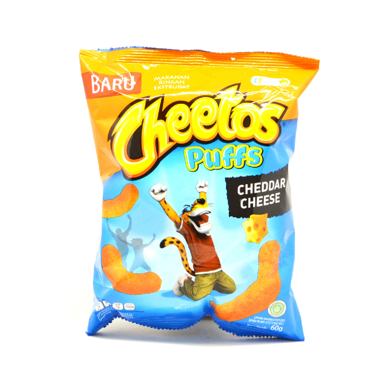 CHEETOS PUFFS CHEEDAR CHEESE 60G