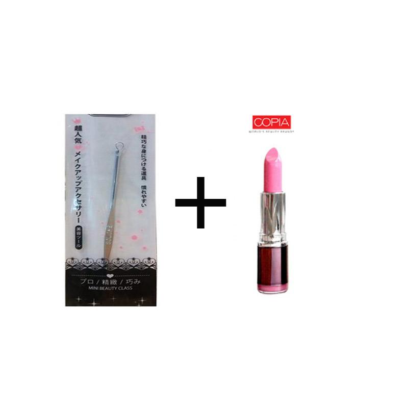 Beaute Recipe Acne Stick 1073-1 + Be Matte Lipstick Palevioletred