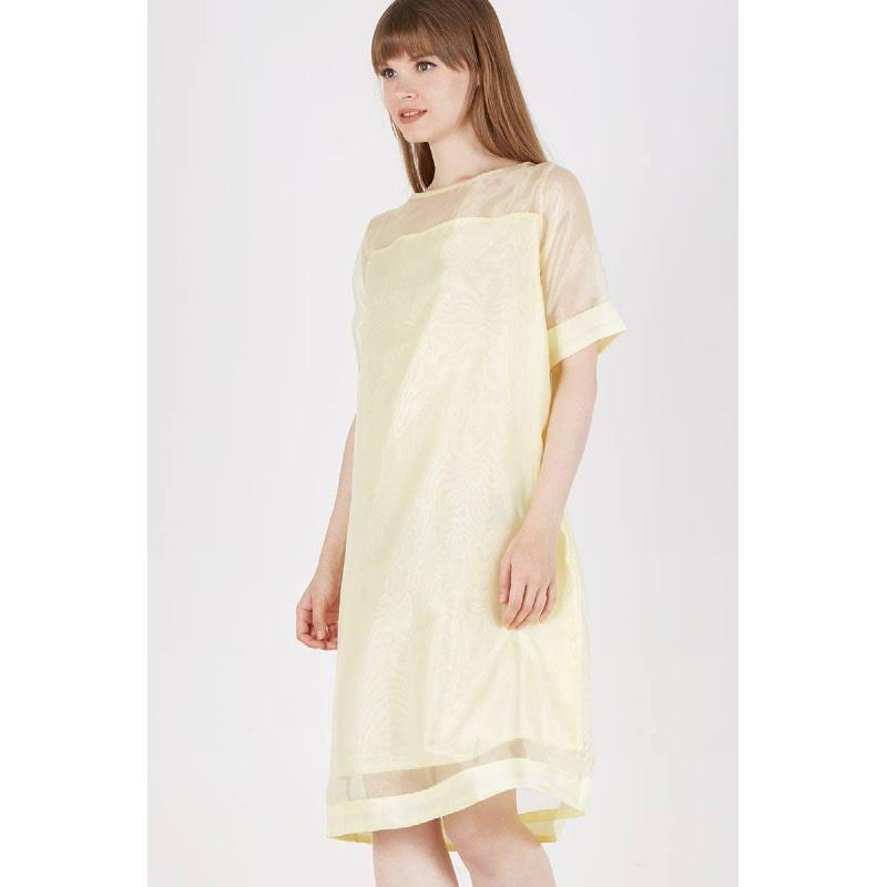 Sasha Toned Dress Yellow