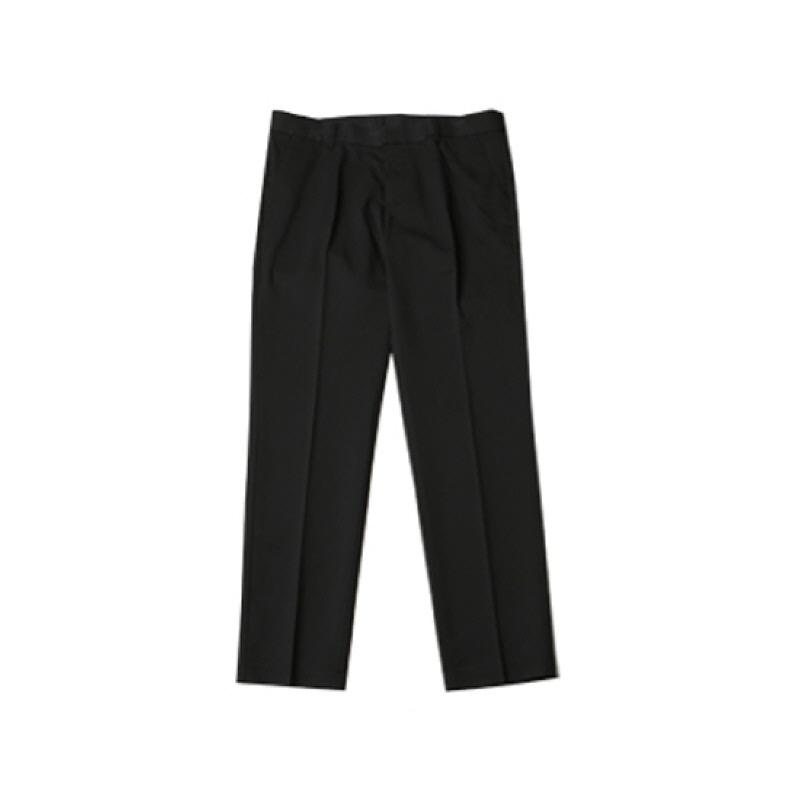 [BL2169]Basic Simple Line Fit Slacks - Black
