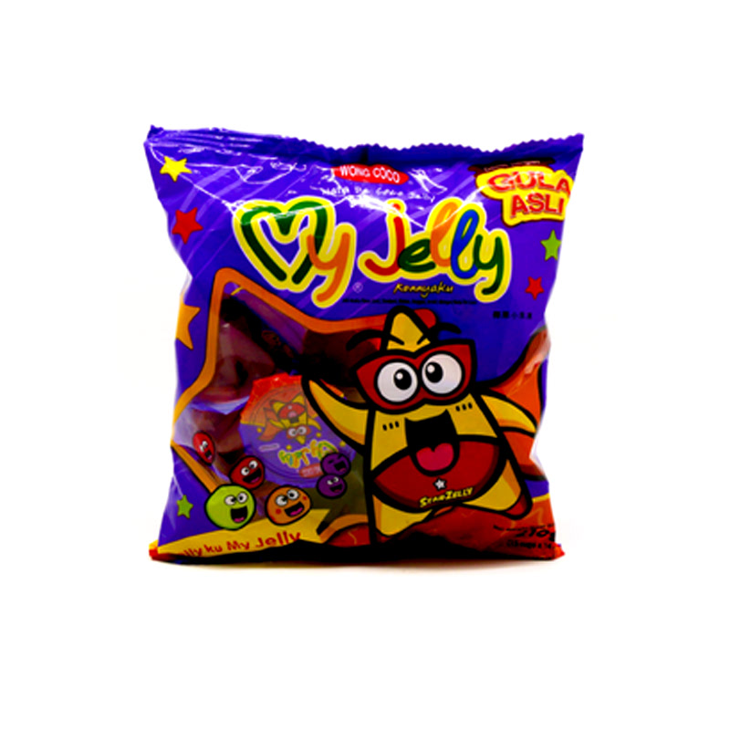 Wong Coco My Jelly 15 X 14gr