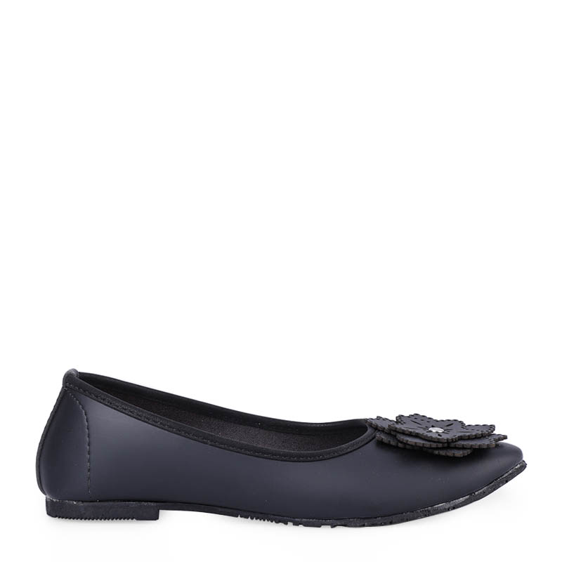 Anyolorich Flat Shoes BL01-Black
