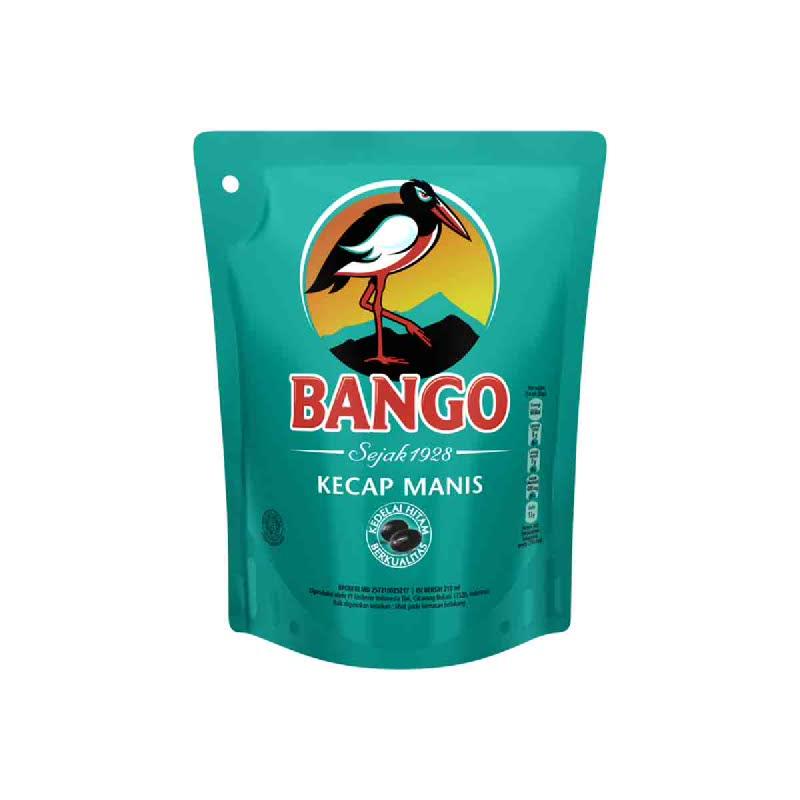 Bango Kecap Manis Reffill 220ml