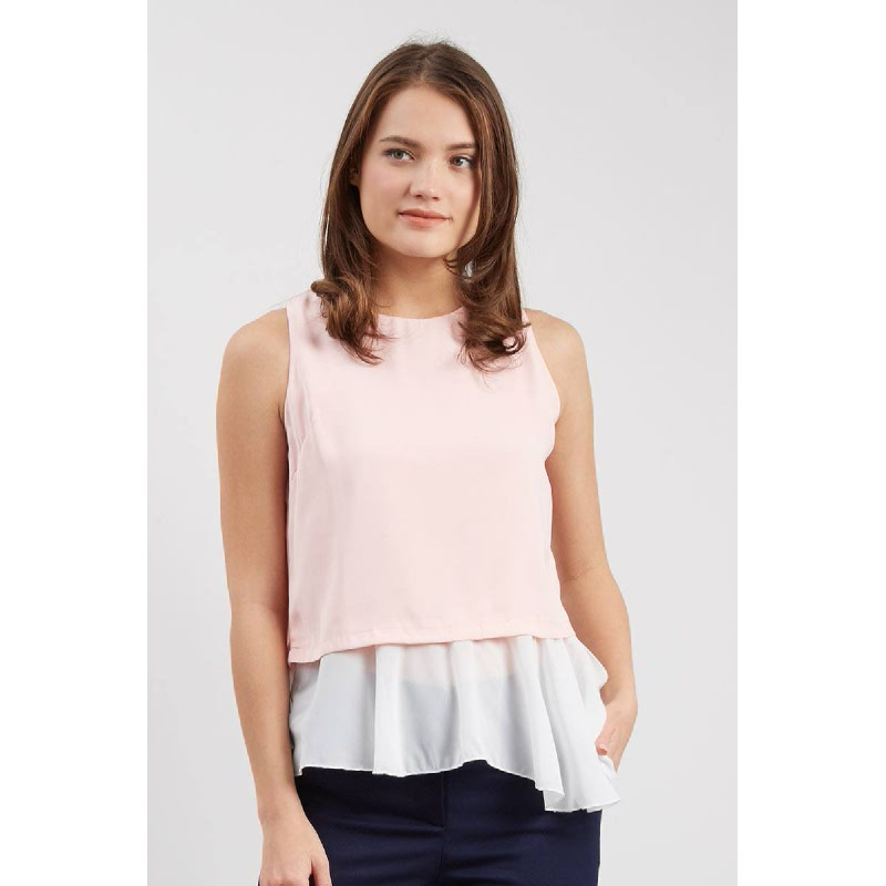 Francois Lohne Top in Pink