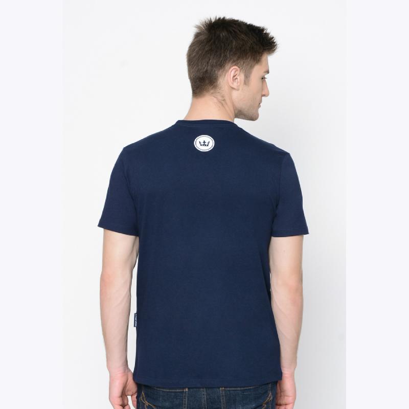 17Seven Rainbow Men Tshirt Blue