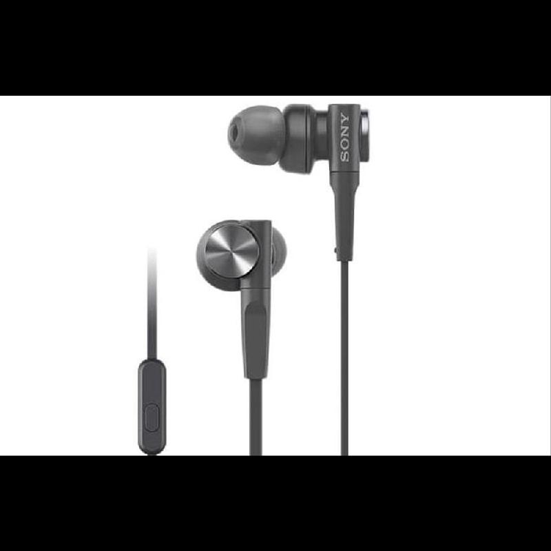 Sony in Ear Headphone MDR-XB55AP Black