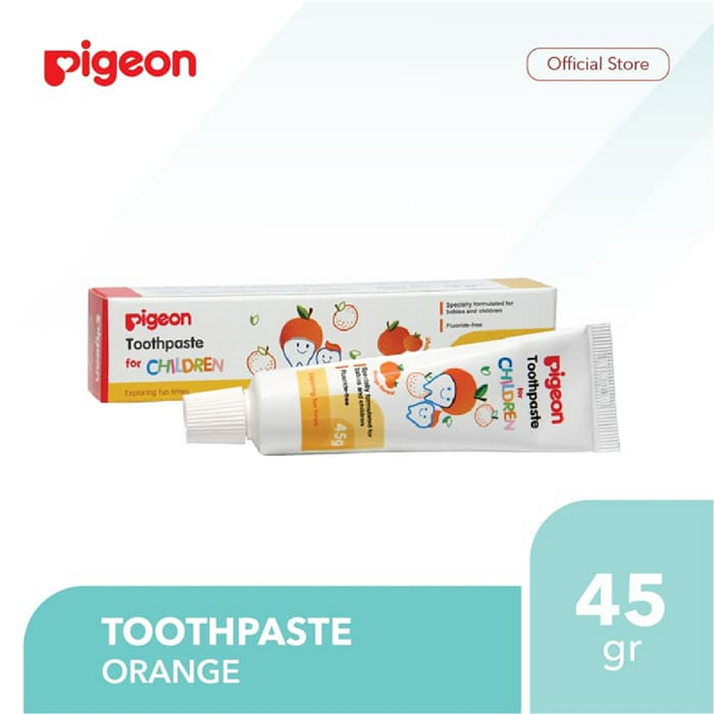 Pigeon Toothpaste Orange 45Gr
