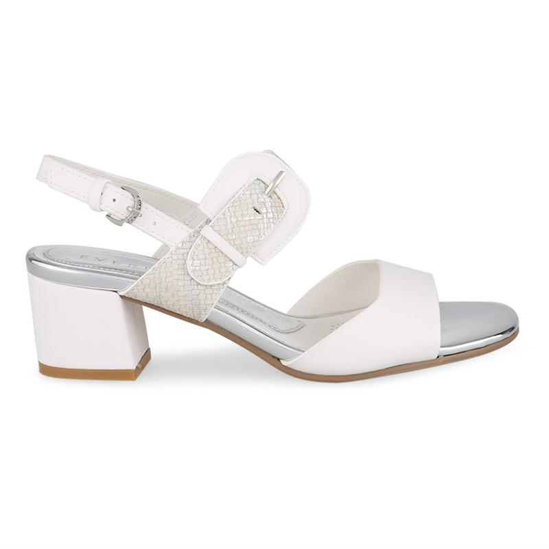 Everbest Sandal Hak Tinggi Fenella Putih