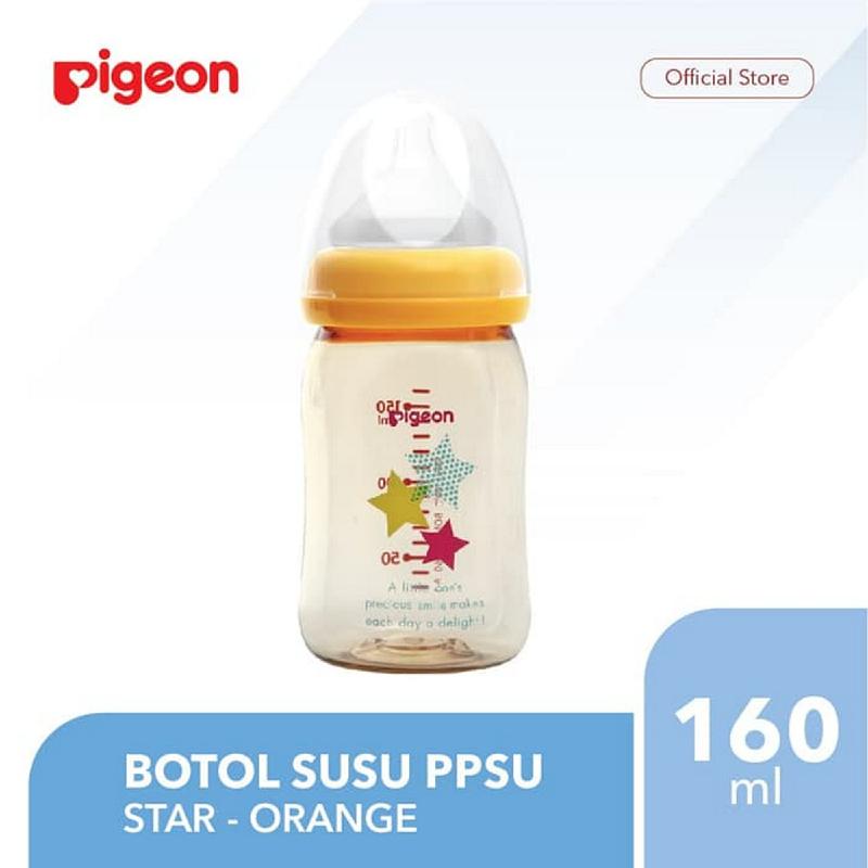 Pigeon Botol PPSU 160 Ml - Star - Orange