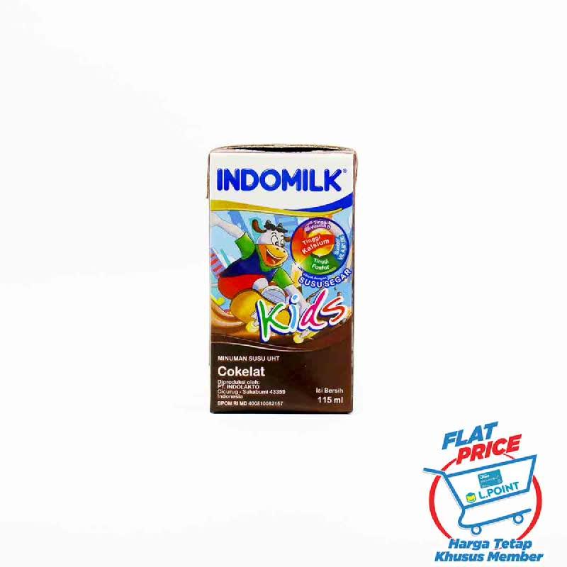 Indomilk Susu Uht Kids Choco 115 Ml (Flat Price)