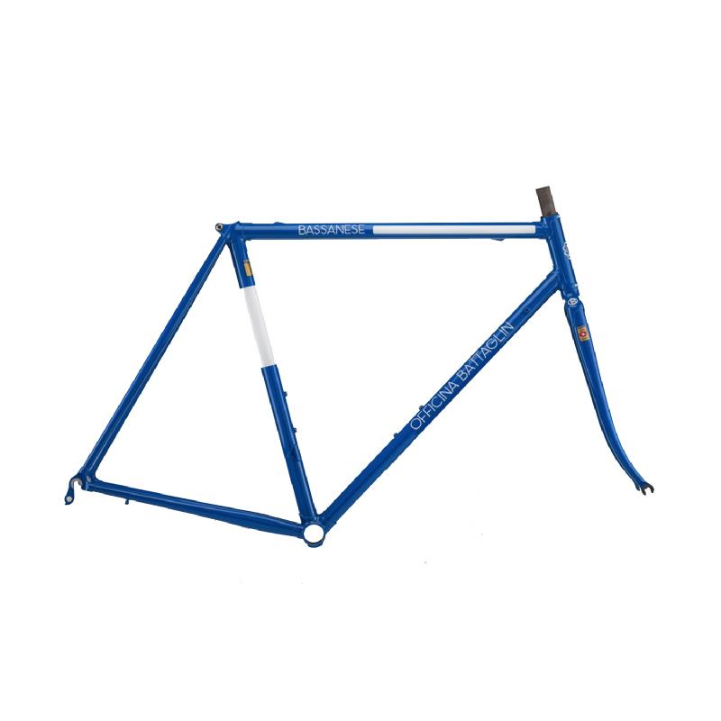 Battaglin Bassanese Steel Frameset Blue