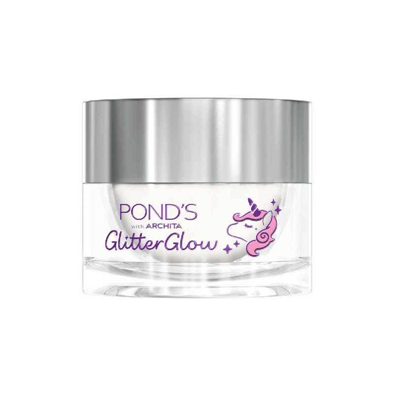 Ponds Glitter Glow Cream Jar 25 Gr