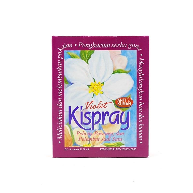 Kispray Violet 3In1 Box 4X24Ml