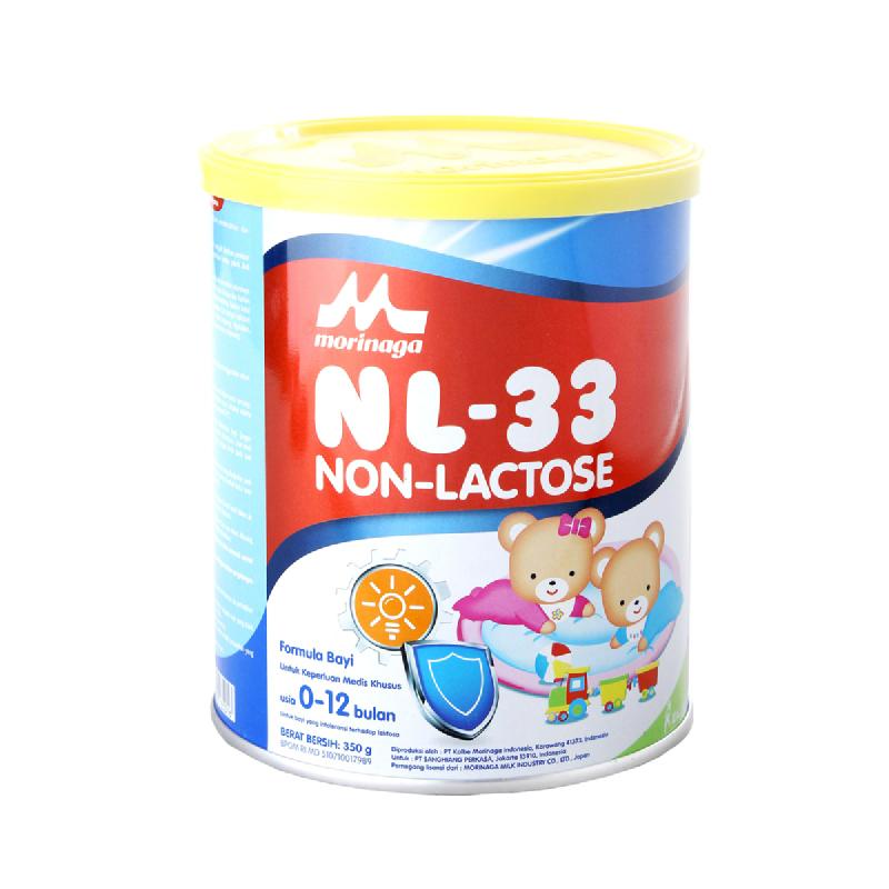 Morinaga Powder Milk Non Lactose 33 350G