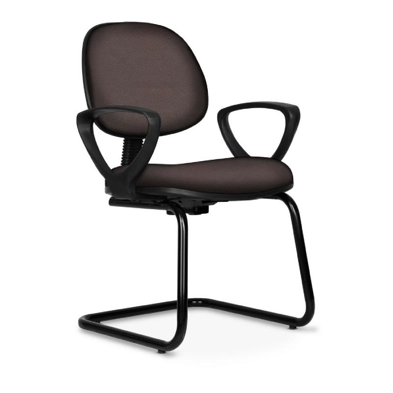 Kursi kantor kursi kerja HP Series - HP29 Brown - PVC Leather