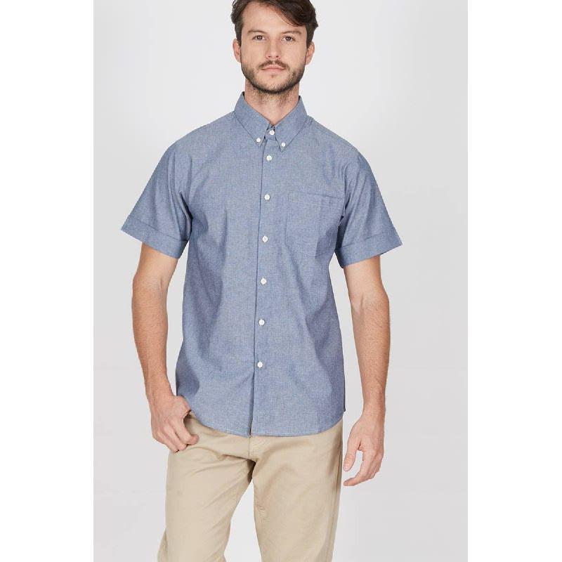 Men Erich Shirt Navy
