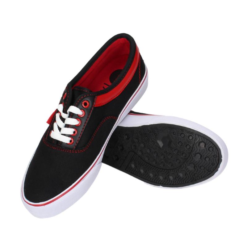 Ardiles Hanoi Sneakers Shoes Black Red
