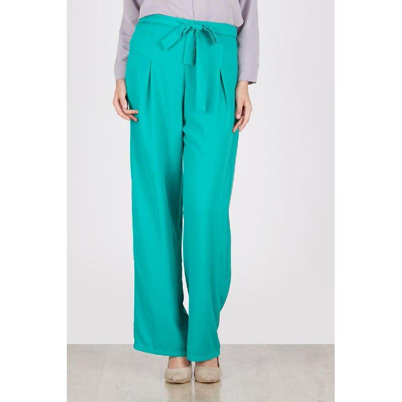 Exalie Green Knot Pants