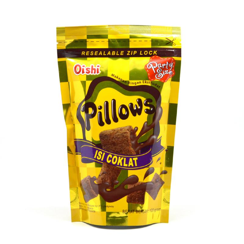 Oishi Pillow Chocolate 130 Gr