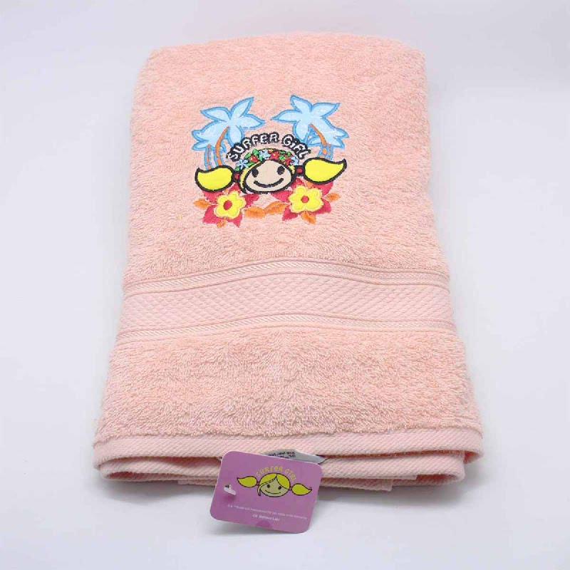L-Living Bath Towel Peach 60X120 Cm