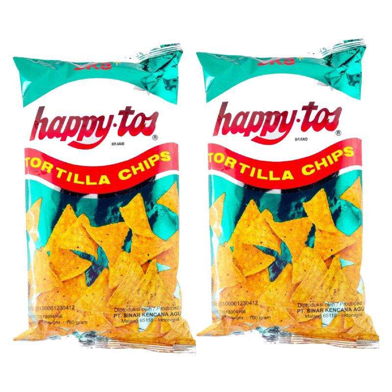 Happy Tos Tortilla Chips 160 Gr (Get 2)