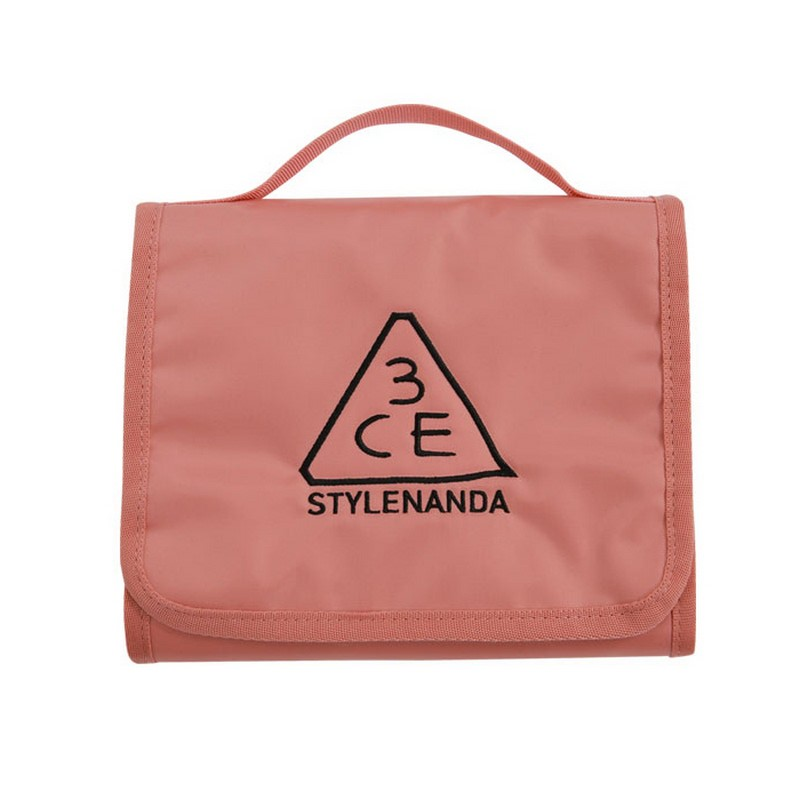 3CE Wash Bag Small - Pink Beige