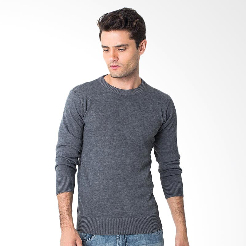 With Elbow Patches MGB27 Sweater