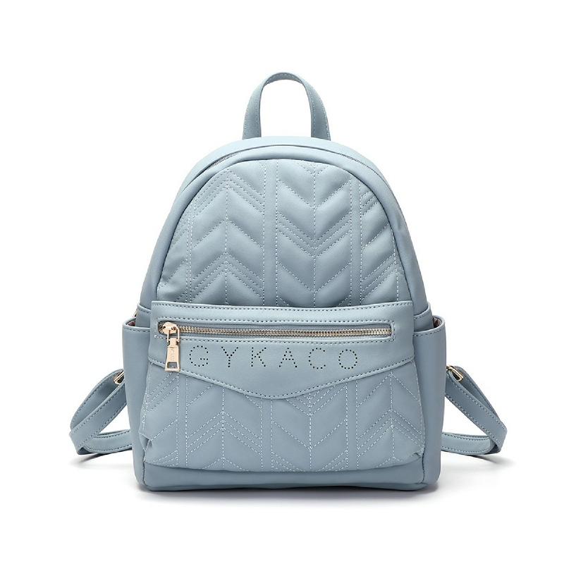 Gykaco Issy Women Fashion Backpack Blue