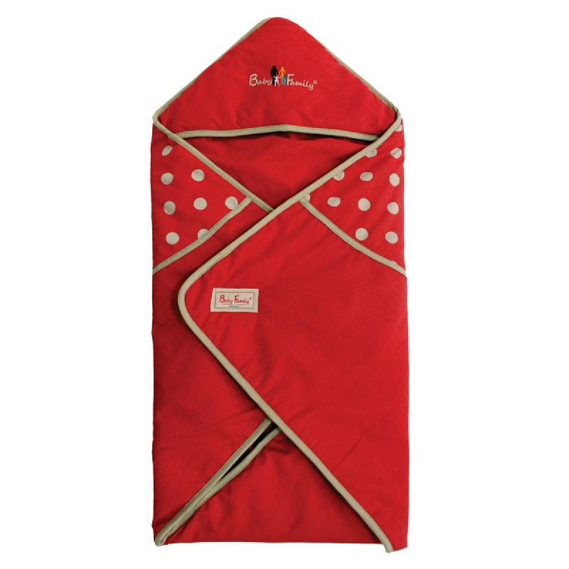 Baby Family Baby Blanket 01BBBF01 Merah