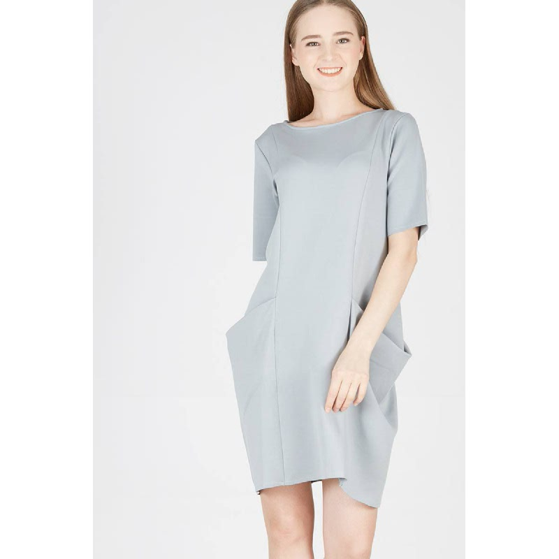 Pearce Dress Grey