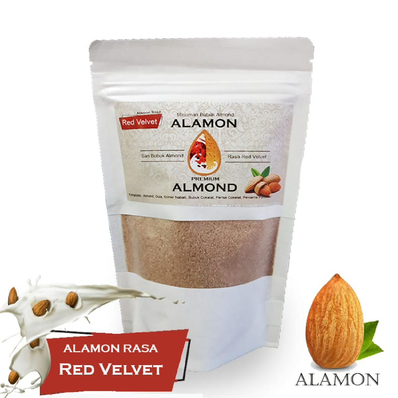 Alamon Milk Rasa Red Velvet