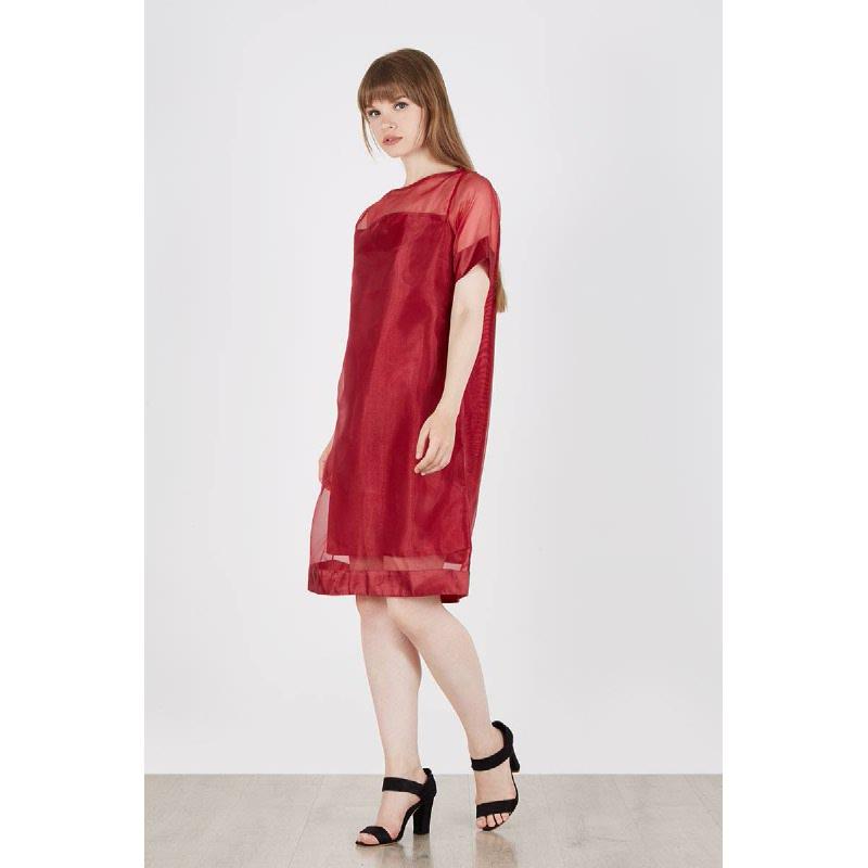 Sasha Toned Dress Red