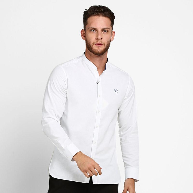 Mon Akita Atsushi Men Shirt White
