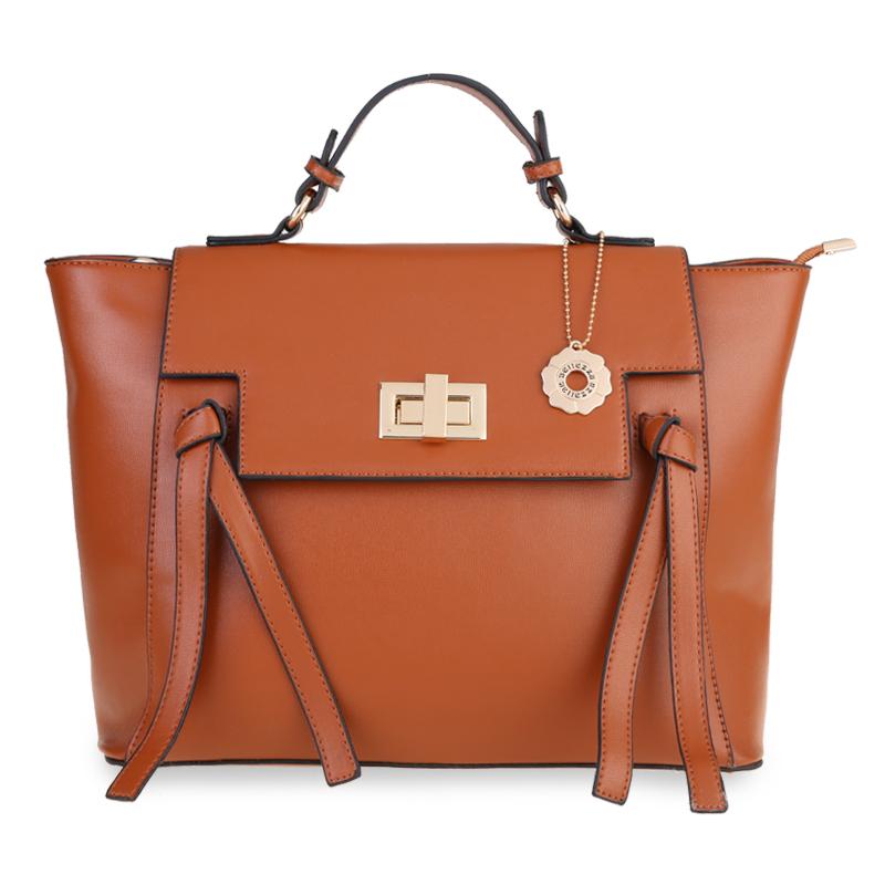 Bellezza Hand Bag 2153-38 Coffe