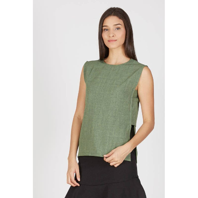 Gigi Green Top
