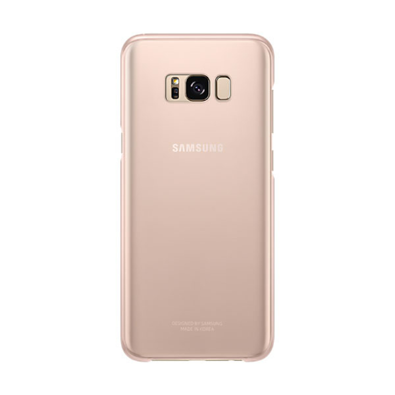 Samsung Clear Cover For Galaxy S8+ Pink