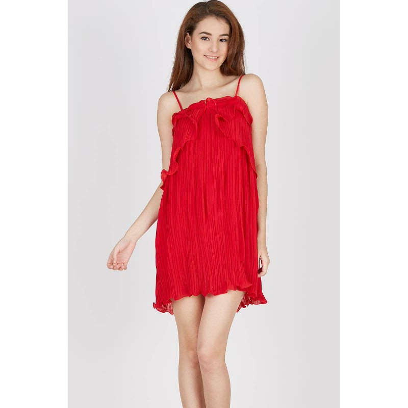 Francois Seifhen Dress in Red