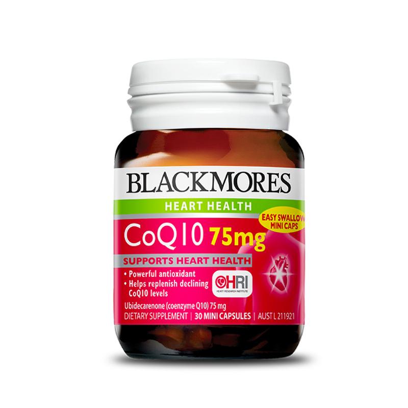 Blackmores CoQ10 75mg 90 Caps