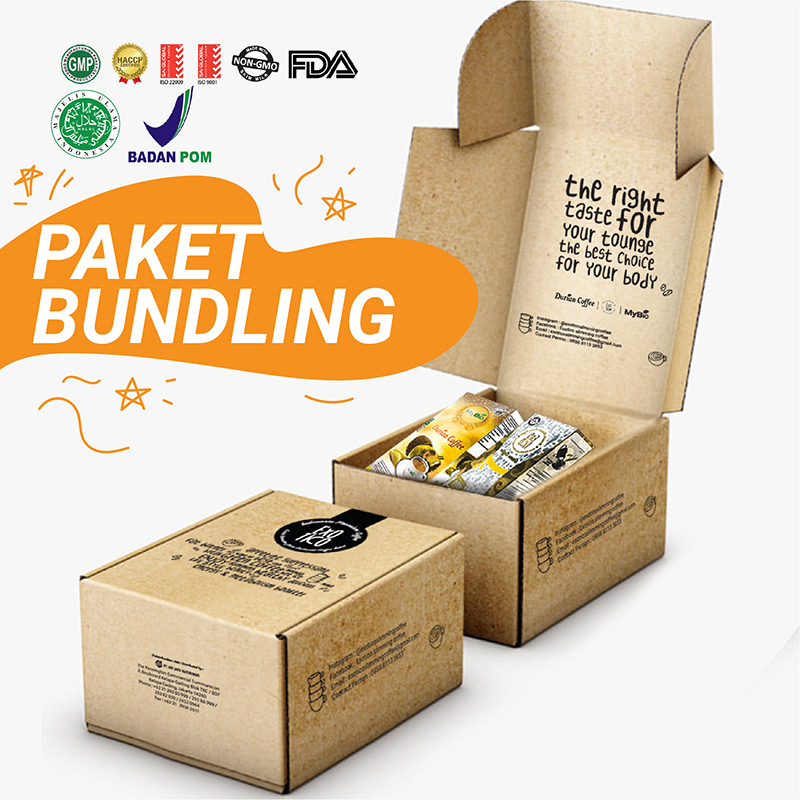 MyBio - Paket Bundling MyBio Durian Coffee + Exotico Green Coffee