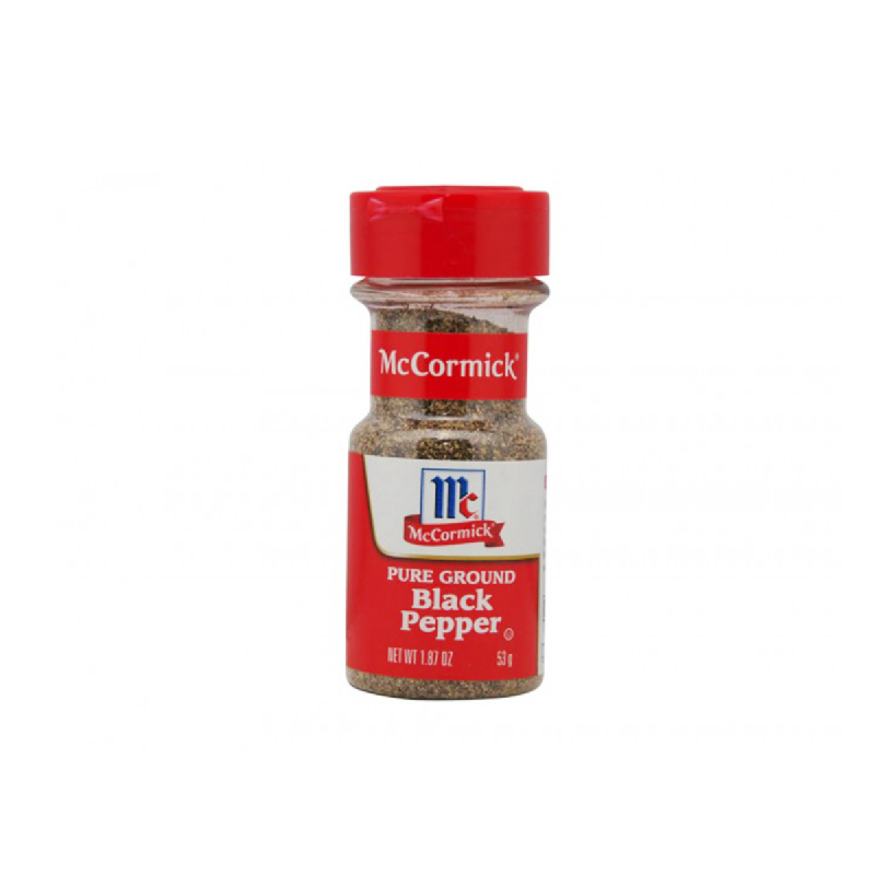 Mccormick Blackpepper  Pure Ground 53G
