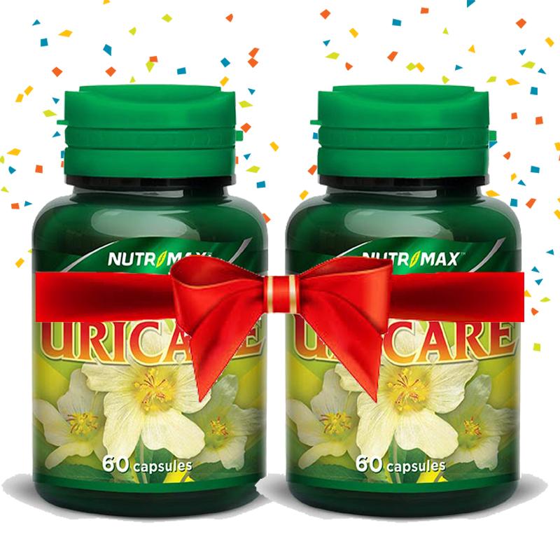 Buy 2 Bottle Nutrimax Uricare 60 Naturecaps