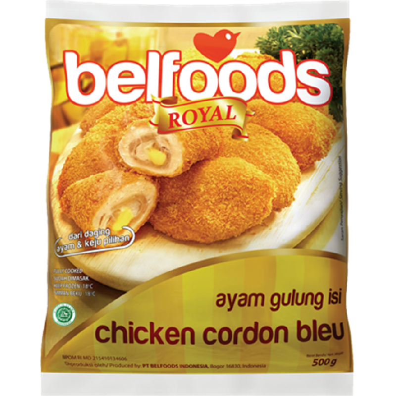 Belfoods Royal Ayam Gulung Isi 500 Gr
